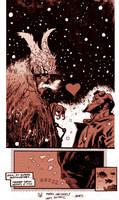 Hellboy vs. Krampus