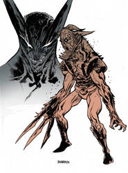 Wolverine Venom color by JHarren
