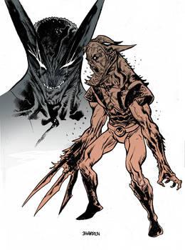Wolverine Venom color