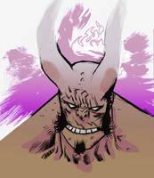 Hellboy warmup by JHarren