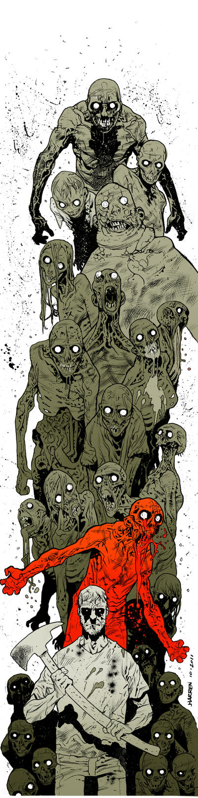 Walking Dead by JHarren