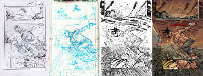 Conan issue 6 page 18 walkthrough by JHarren
