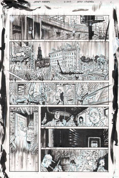 BPRD Abyss of Time page 1 raw