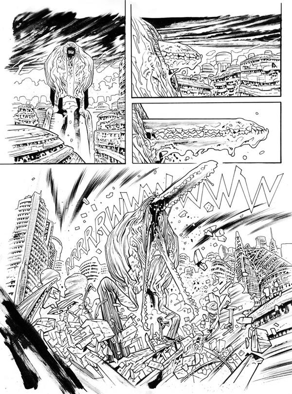 Dredd: Save Him pg. 3 by JHarren