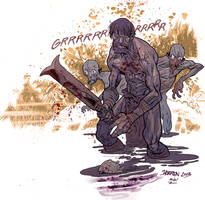 BPRD Abyss of Time by JHarren
