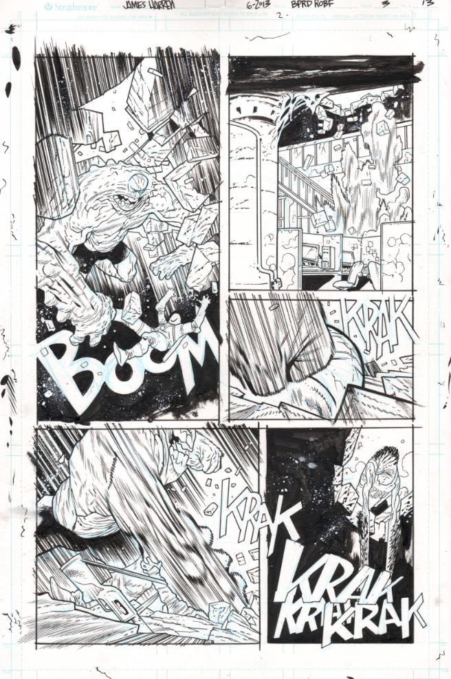 BPRD117 inks raw by JHarren