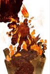 Hellboy 20th color