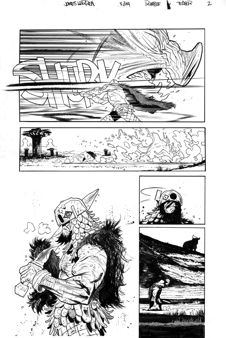 Rumble teaser page 2 by JHarren