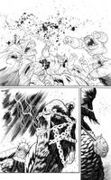 Rumble #6 page 3 inks by JHarren
