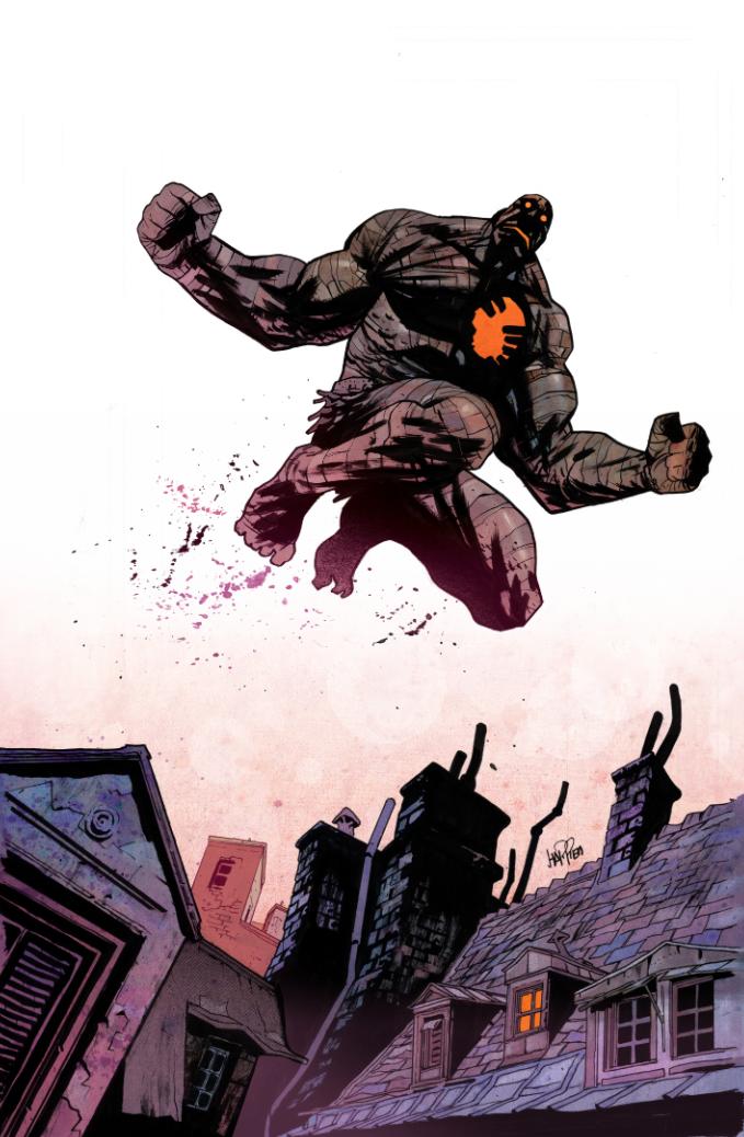 Rumble #12 cover by JHarren