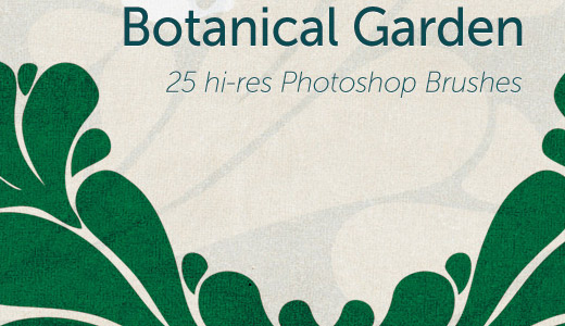 GIMP Botanical Garden Brushes by GimpBrush