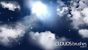 GIMP Clouds Brushes