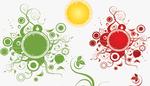 GIMP Flower Ray