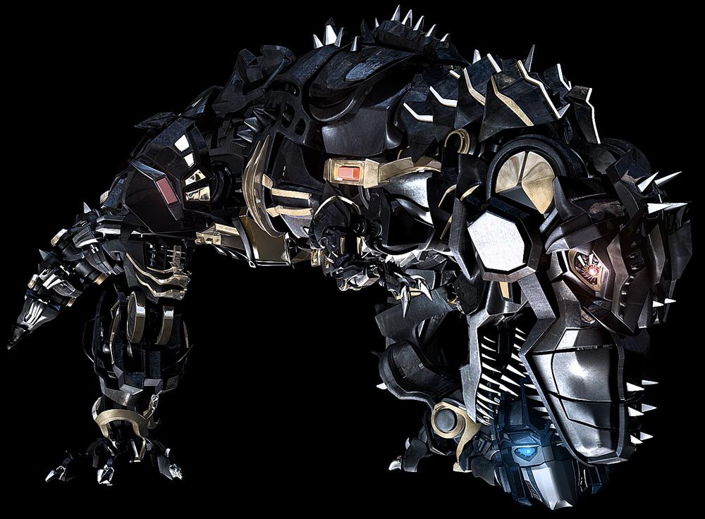 CG XT-Dinobot by xeltecon on DeviantArt