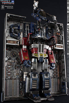 Optimus Prime MP-10 Repaint - Oil Change