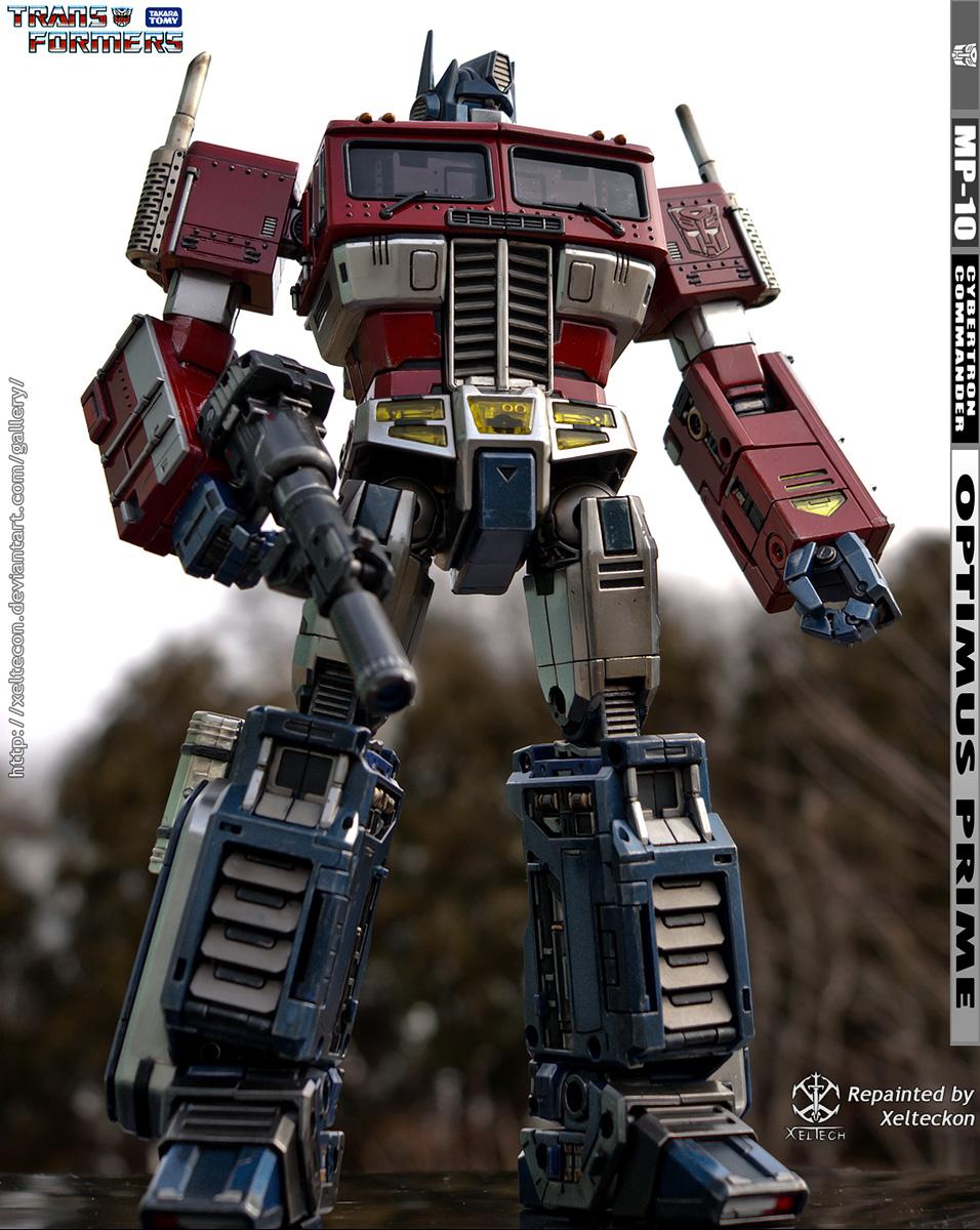 Xeltecons Deviantart Gallery Transformers Mp 10 Optimus Prime Convoy
