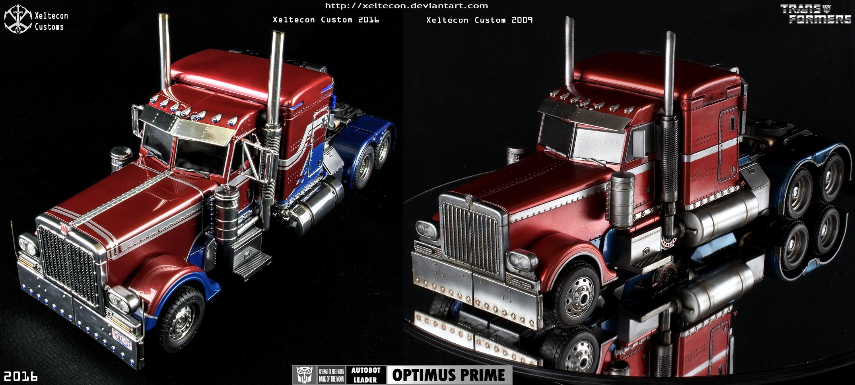 how to build optimus prime truck
