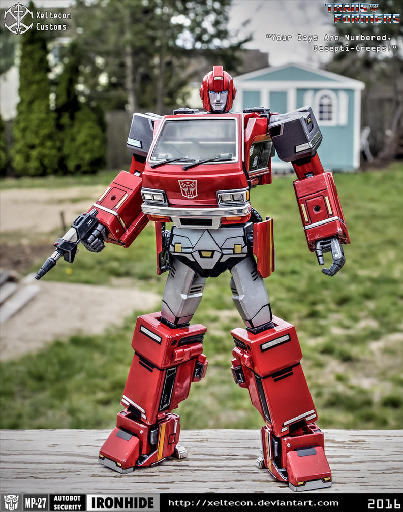 XT_MP-27 Ironhide Custom Decepticreeps! by xeltecon