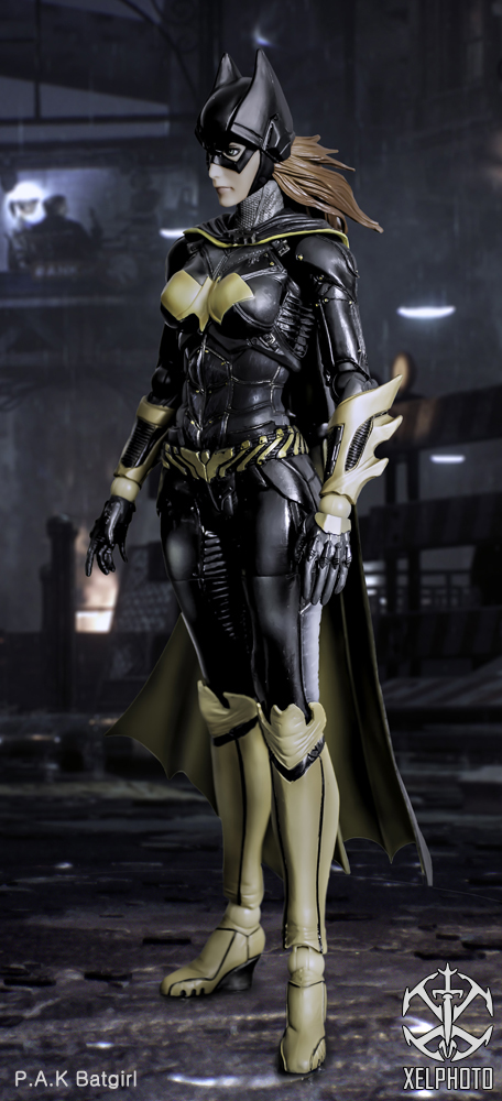 Kay's Play Arts Kai Batgirl action figure by xeltecon