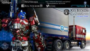 Xelteckon Optimus Prime Model 2021 teaser WS