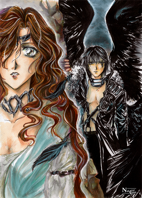 AS - Alexiel x Lucifer by Nat-chan