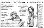 Discworld Dictionary X