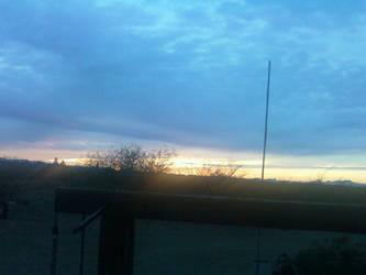 Arizona Sunset 03/06/2014 by JZFranklin