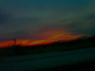 Arizona Sunset 04/11/2014 by JZFranklin