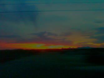 Arizona Sunset 04/11/2014 view 2 by JZFranklin