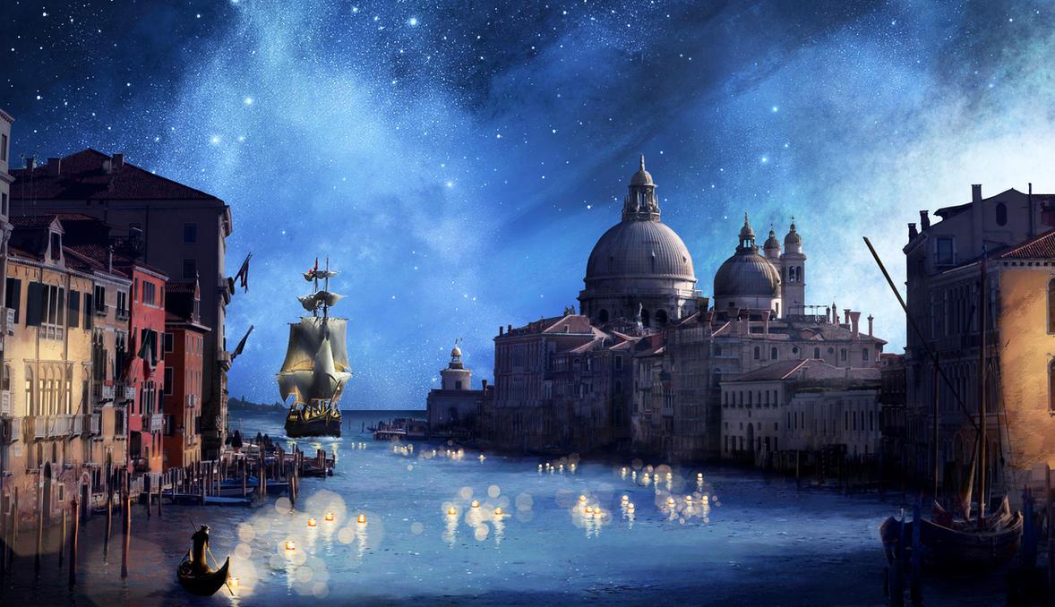 The Ferryman by Winerla