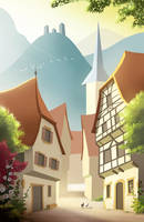 Alsace - Summer Postcard 2016 #2 by Winerla