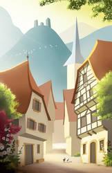 Alsace - Summer Postcard 2016 #2 by Winerla