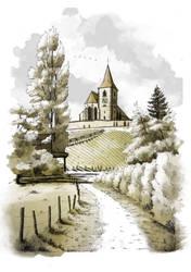 Hunawihr - Eglise Saint-Jacques-le-Majeur