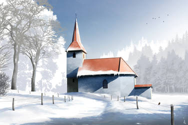 Saint Theodule by Winerla