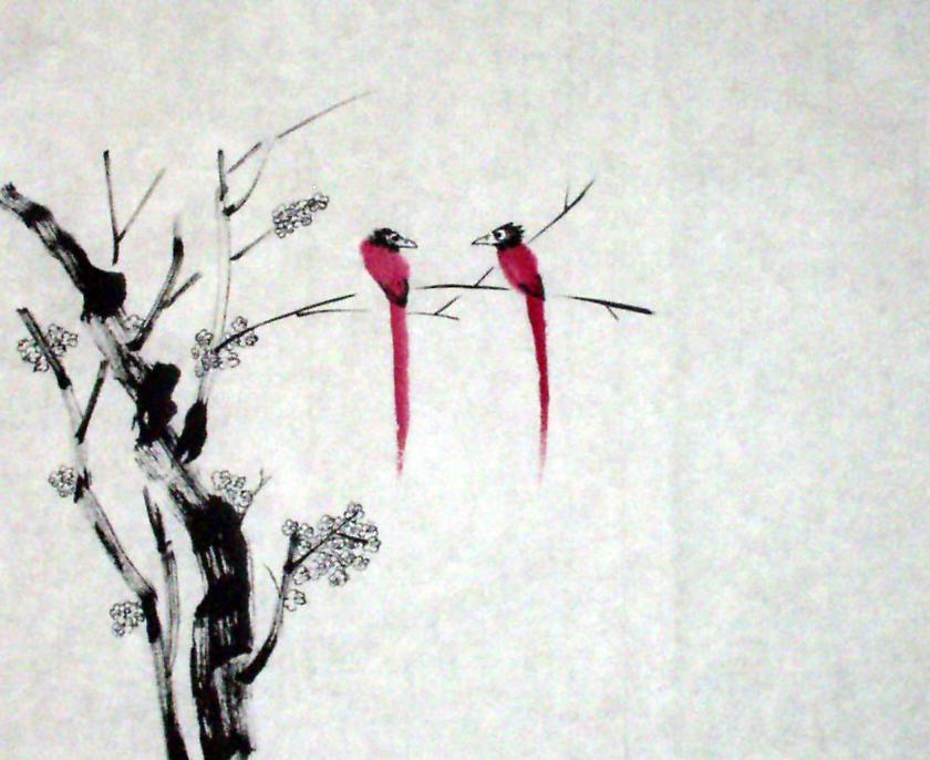 Large Brush Painting
