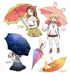 Umbrella by arielucia