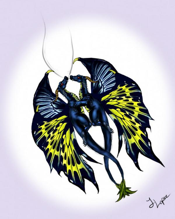 Butterfly Dragon By Wrestlemaniacxxi On Deviantart