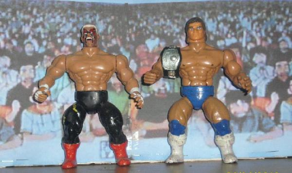 NWA Sting And Lex Luger By Mekio82 On DeviantArt