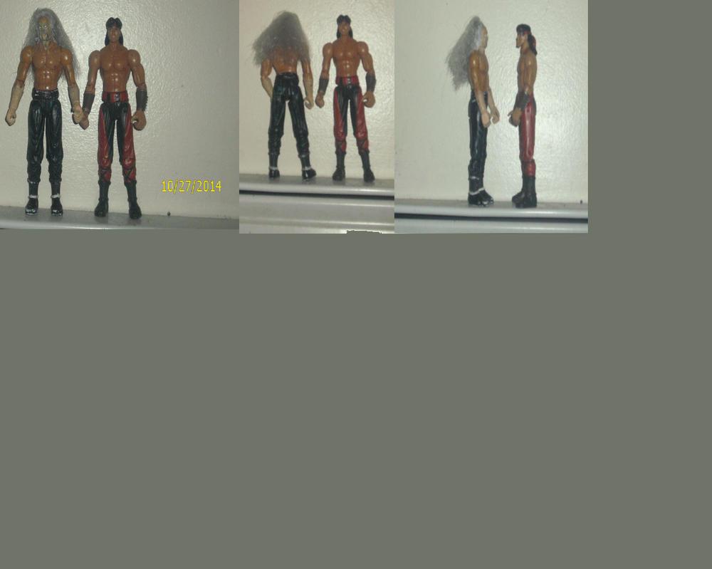 Mortal Kombat Shang Tsung Custom Figure by mekio82