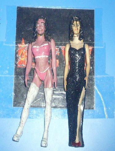 Ecw Elektra And Lady Alexandra 1 By Mekio82 On Deviantart