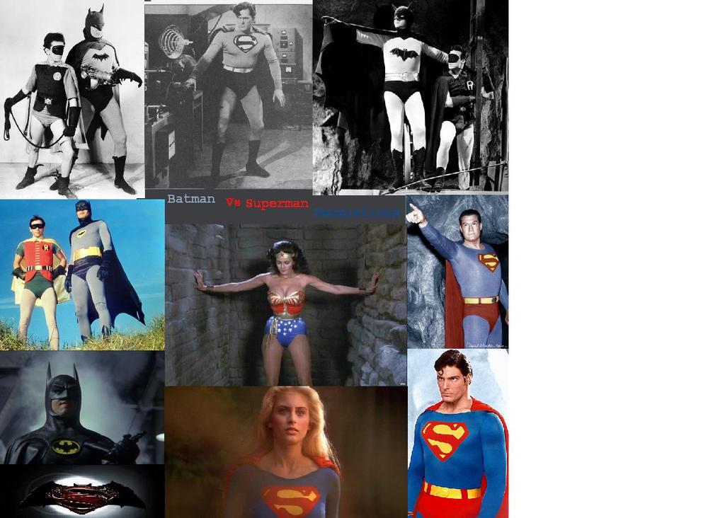 Batman Vs Superman Generations by mekio82
