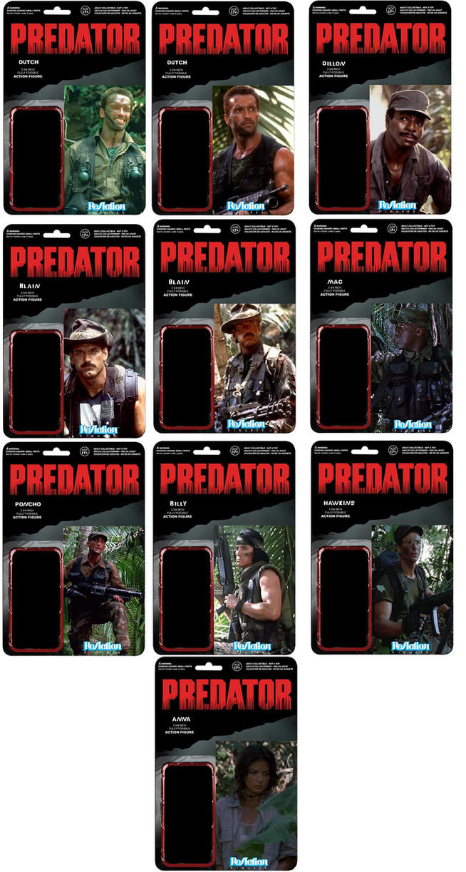 Predator Card Front by mekio82