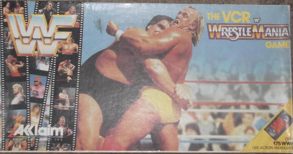 WWF Wrestle Maina the vcr game by mekio82