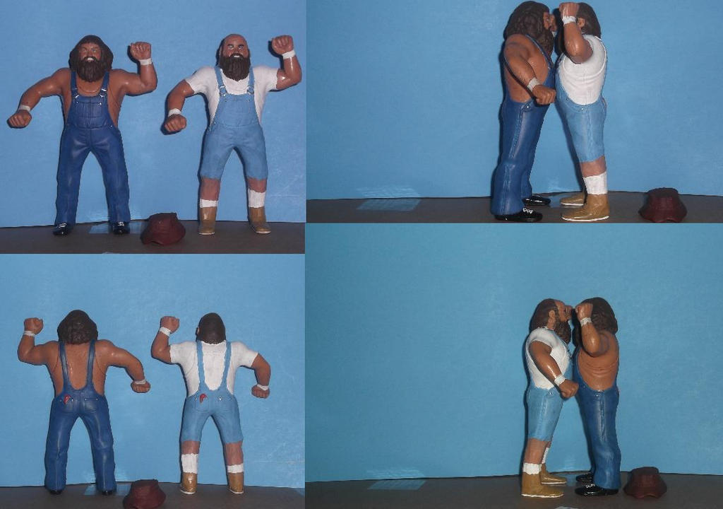 Hillbilly Jim with Uncle Elmer by mekio82