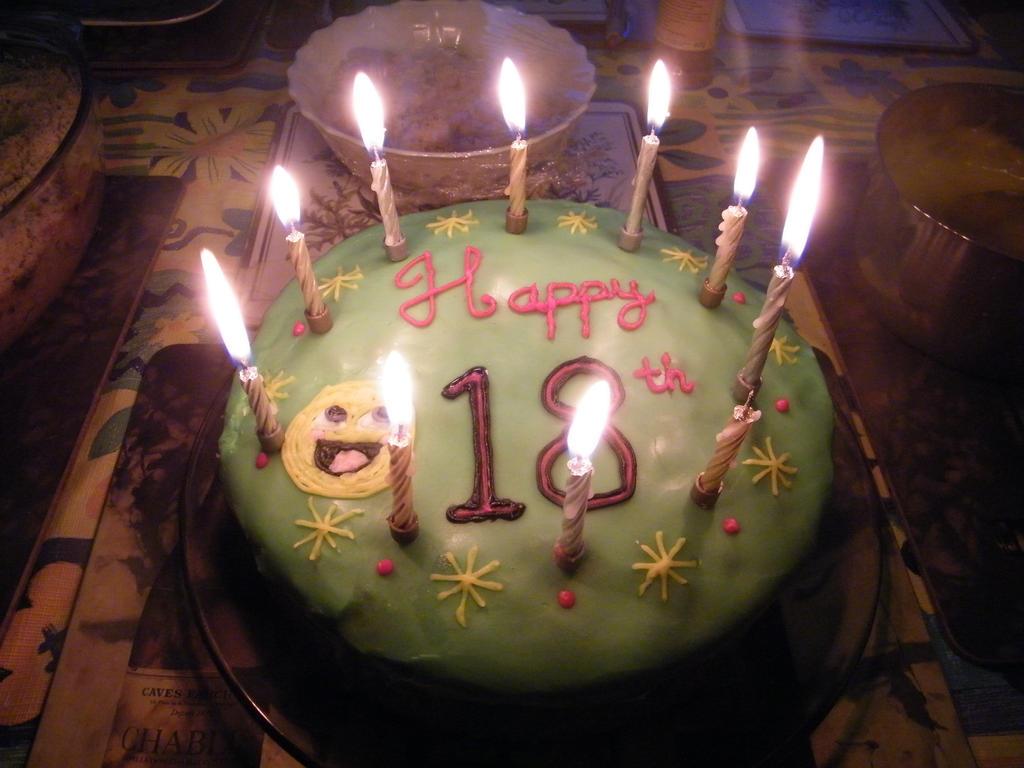 sebs 18th birthday cake 2 by EvlingMagicSpark on DeviantArt
