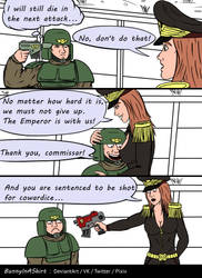 A good commissar will always support you)