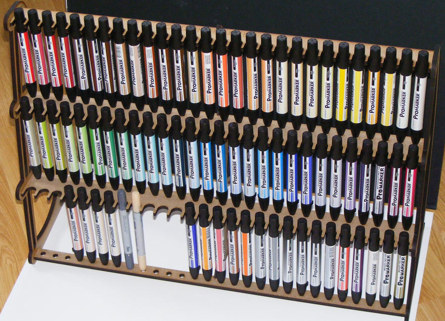 Promarker 84 Pen Holder by Steffie86
