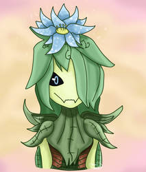 Starbound- Floran Girl Art by Thestar78956