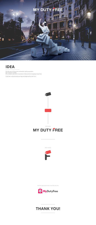 MyDutyFree logo concept by 5tag