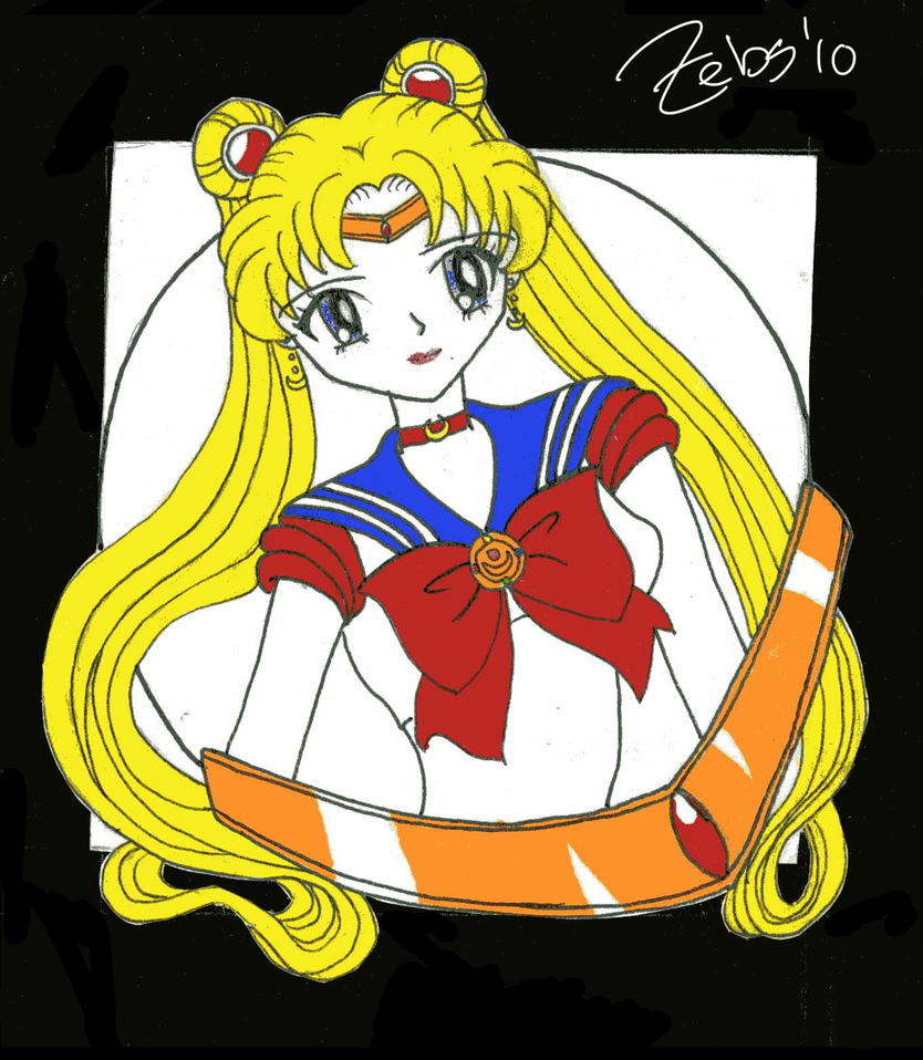Sailor Moon Logo by UnknownBlood on DeviantArt